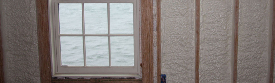 foam insulation strengthens walls of Massachusetts homes